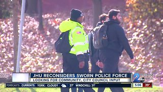 Johns Hopkins University fights to have own police force