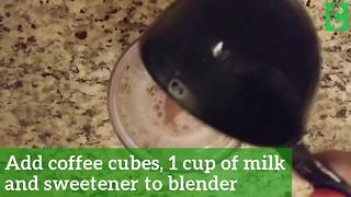 The #1 secret to making the best frozen coffee - Video