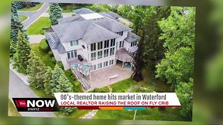 90's themed mansion up for sale in Waterford - Video