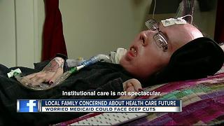 Local family concerned about Health Care future - Video