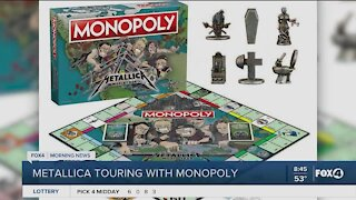 Monopoly teams up with Metallica