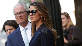 House Judiciary Committee Releases Hope Hicks Testimony Transcript