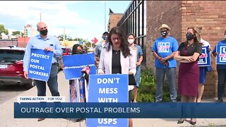 Postmaster General says USPS won't make changes to 'operational initiatives' until after election