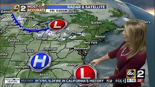 Maryland's Most Accurate Forecast - Snow Arrives Friday Afternoon - Video