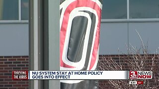NU system stay at home policy goes into effect