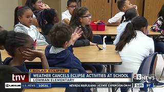 Mother Nature puts damper on school eclipse viewing