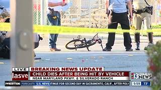 Boy riding bike killed after being hit by SUV - Video
