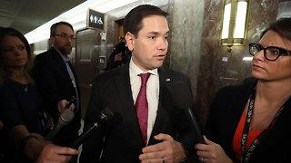 Marco Rubio Fires Chief Of Staff After 'Improper Conduct' Complaint - Video