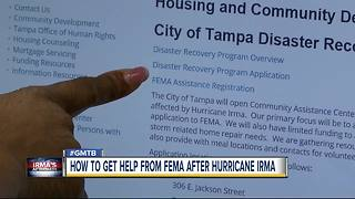 How to get help from FEMA after Hurricane Irma - Video