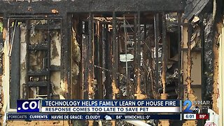 Smart doorbell helps family learn of house fire