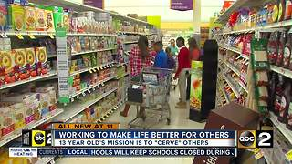 13-year-old beats cancer, founds organization to help kids in need - Video