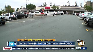 Grocery workers could vote to authorize strike