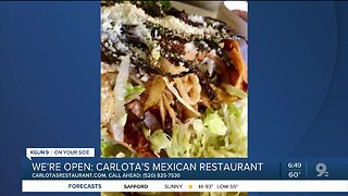 Carlota's Mexican Restaurant offers takeout fare