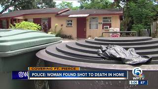 Woman shot to death in Fort Pierce home on Sunday - Video