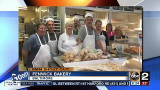Good morning from Fenwick Bakery in Baltimore - Video