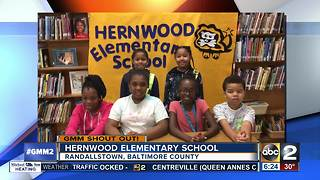 Good morning from students at Hernwood Elementary School - Video