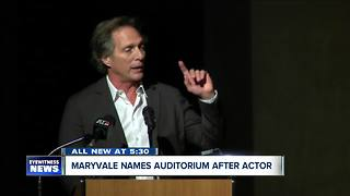 Maryvale High names auditorium after famous alum - Video