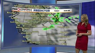 Warm and Dry Monday, Cold Front on the Way - Video