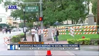 Brooksville Police responds to social media rumors - Video
