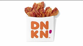 Dunkin' introduces 'Snackin' Bacon' to its menu