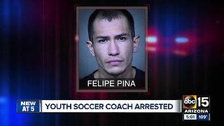 East Valley youth soccer organizer accused of child sex trafficking