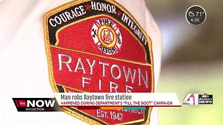 Raytown fire station burglarized while crews raise money for charity - Video