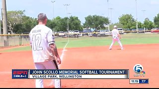 John Scollo softball tournament 4/6