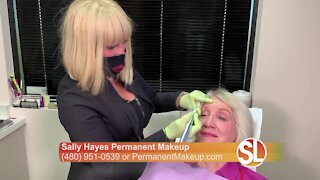 Permanent makeup with Sally Hayes can save you time and money