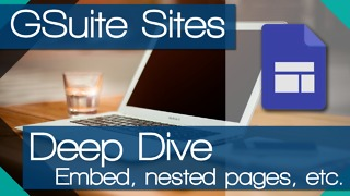 NEW Google Sites - More options (Deep Dive) - Video