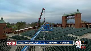 New upgrades at Starlight Theatre - Video