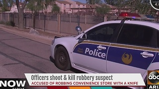 Armed robbery at dollar store leads to deadly encounter with police - Video