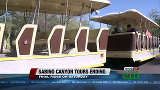 Sabino Canyon tram service to temporarily end - Video
