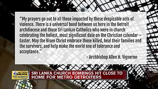 Sri Lanka church bombings hit close to home for metro Detroiters