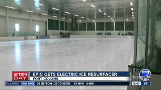 EPIC gets electric ice resurfacer