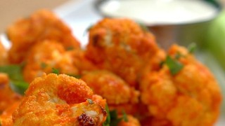 Delicious Buffalo Cauliflower Bites recipe