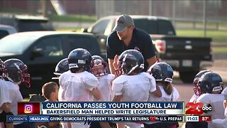 California passes California Youth Football Act with help of Bakersfield man
