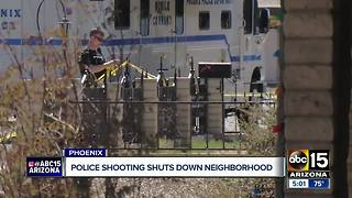 Violent suspect shoots Glendale police sergeant - Video