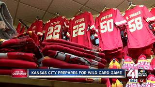 Chiefs Kingdom prepares for playoff game - Video