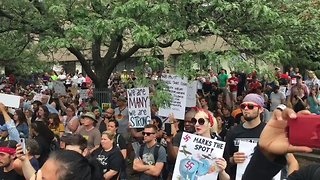 Boston 'Free Speech' Rally Met With Huge Counter-Protest - Video