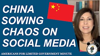 China Sowing Chaos On Social Media
