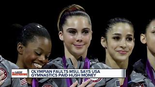 Olympic medalist McKayla Maroney files lawsuit against U.S. Olympic Committee, MSU - Video