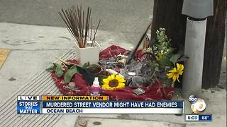 Street vendor stabbed to death in Ocean Beach