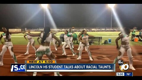 Lincoln High student talks about racial taunts
