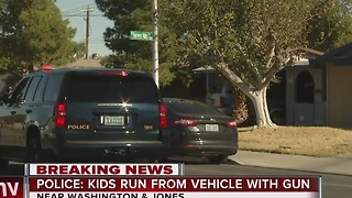 UPDATE: Police arrest 4 juvenile suspects after chase - Video