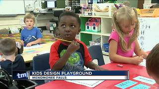 Menomonee Falls elementary school building a playground for all - Video