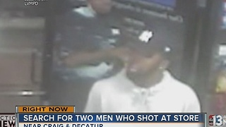 Police want to find men who shot at Goodwill store - Video