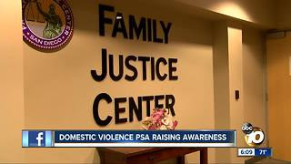 Domestic violence PSA raising awareness