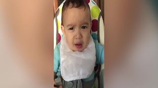 Baby Boy Tries Lemon For The First Time