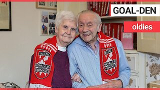 Britain's oldest football loving couple still follow Walsall FC after 90 YEARS