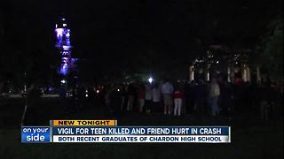 Vigil for Chardon teen killed in crash - Video